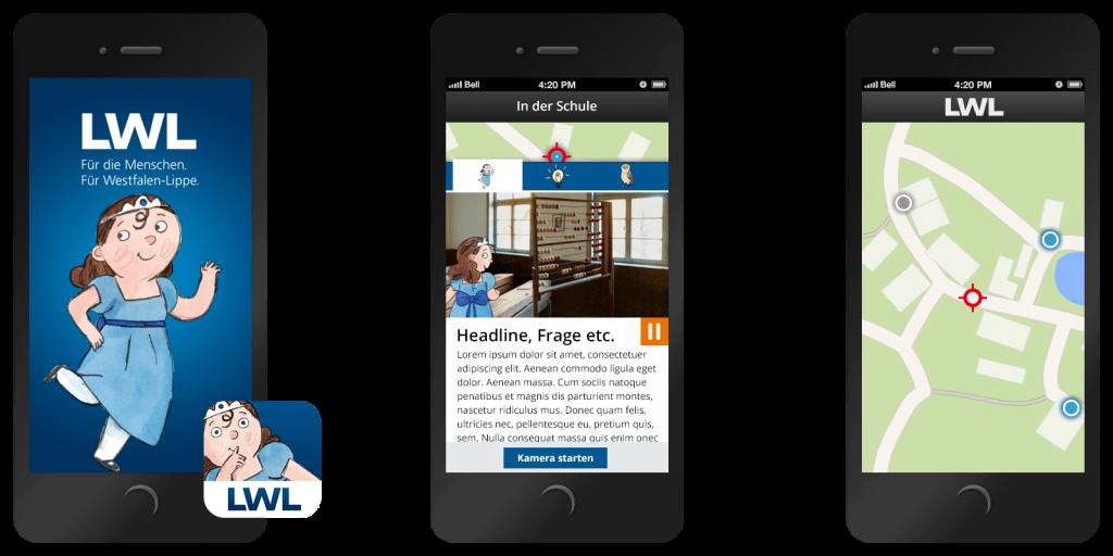 Die App zur Erkundung des LWL Freilicht-Museums in Detmold