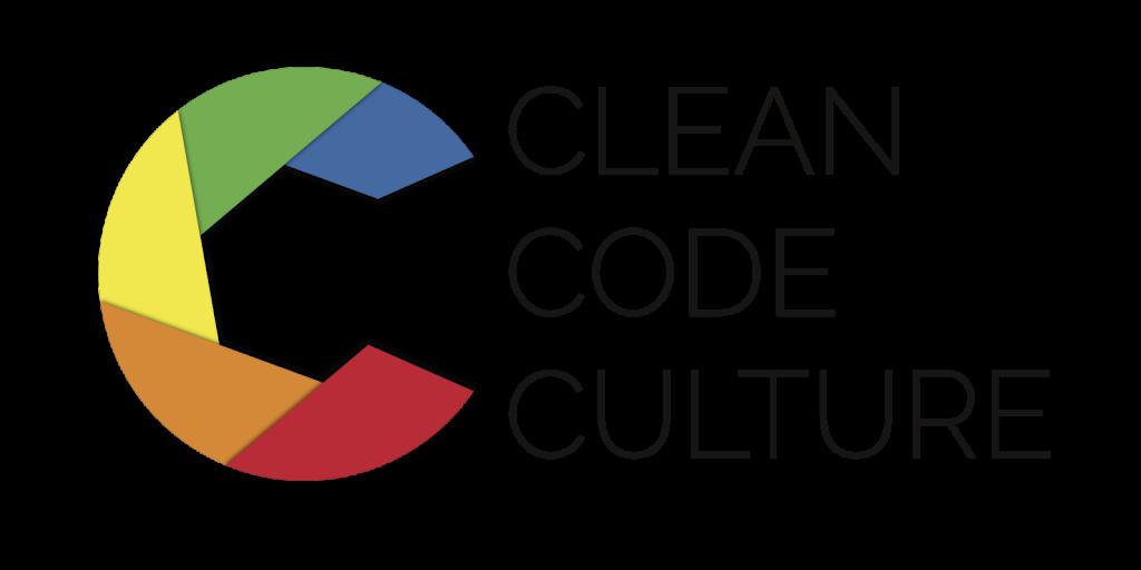 """Das Logo für Clean Code Culture: ein """"C"""" bestehend aus 5 Farbflächen"""