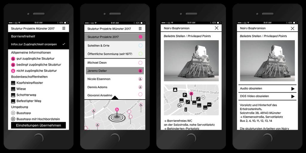 Barrierefreies App-Design: Zugänglichkeit, Audio-Kanal, DSG-Videos