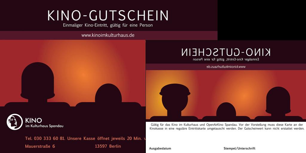 Fälschungssichere Kino-Gutscheine – mit Kopierschutz by Design