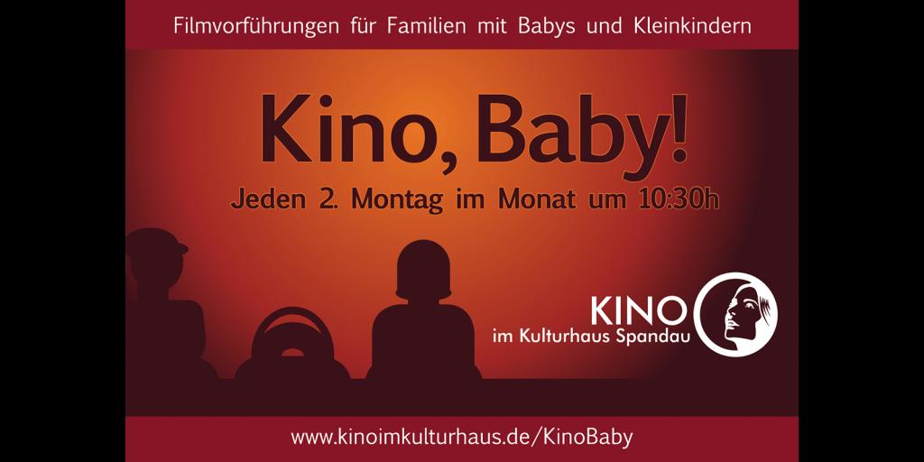 Print-Anzeige für Kino, Baby!